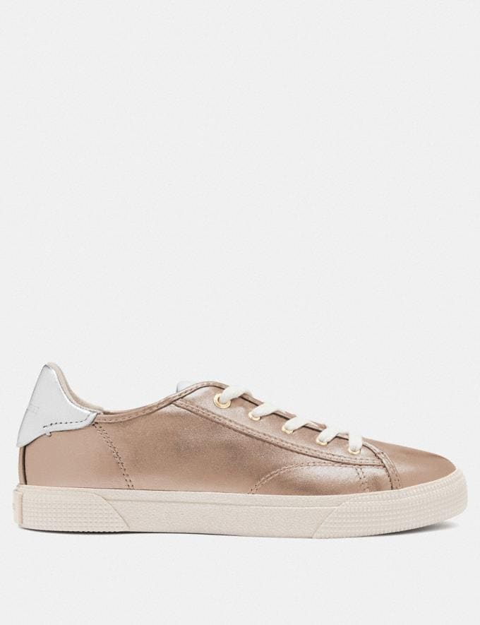 Coach C136 Low Top Sneaker Champagne  Alternate View 1