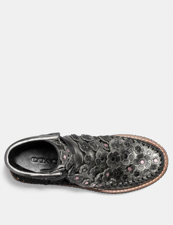 Coach Cut Out Bootie With Tea Rose Gunmetal Friends & Family Sale Women's Shoes Alternate View 2