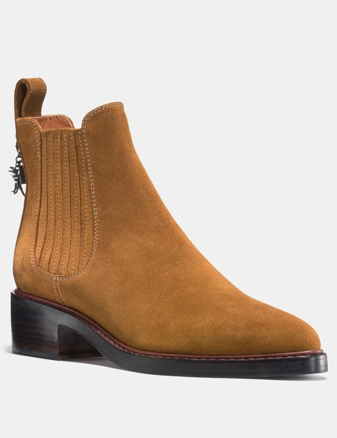 Coach Bowery Chelsea Boot Camel