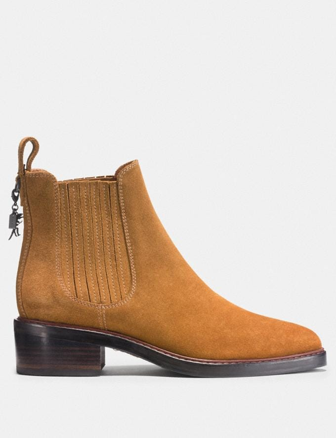 Coach Bowery Chelsea Boot Camel  Alternate View 1