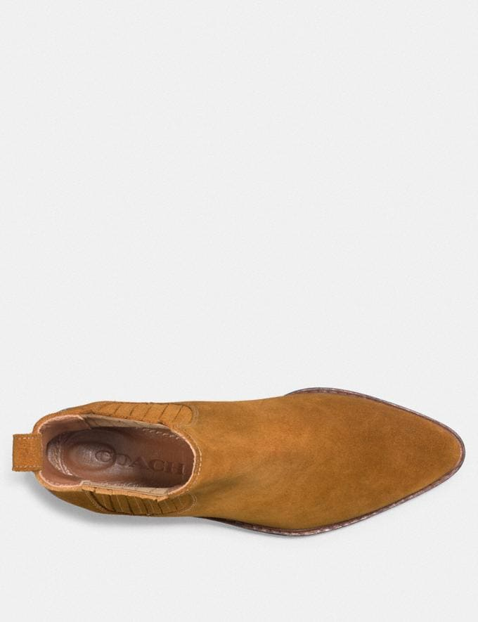 Coach Bowery Chelsea Boot Camel  Alternate View 2