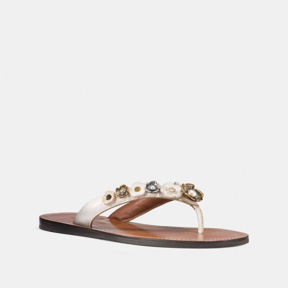 Coach Tea Rose Multi Flip Flop