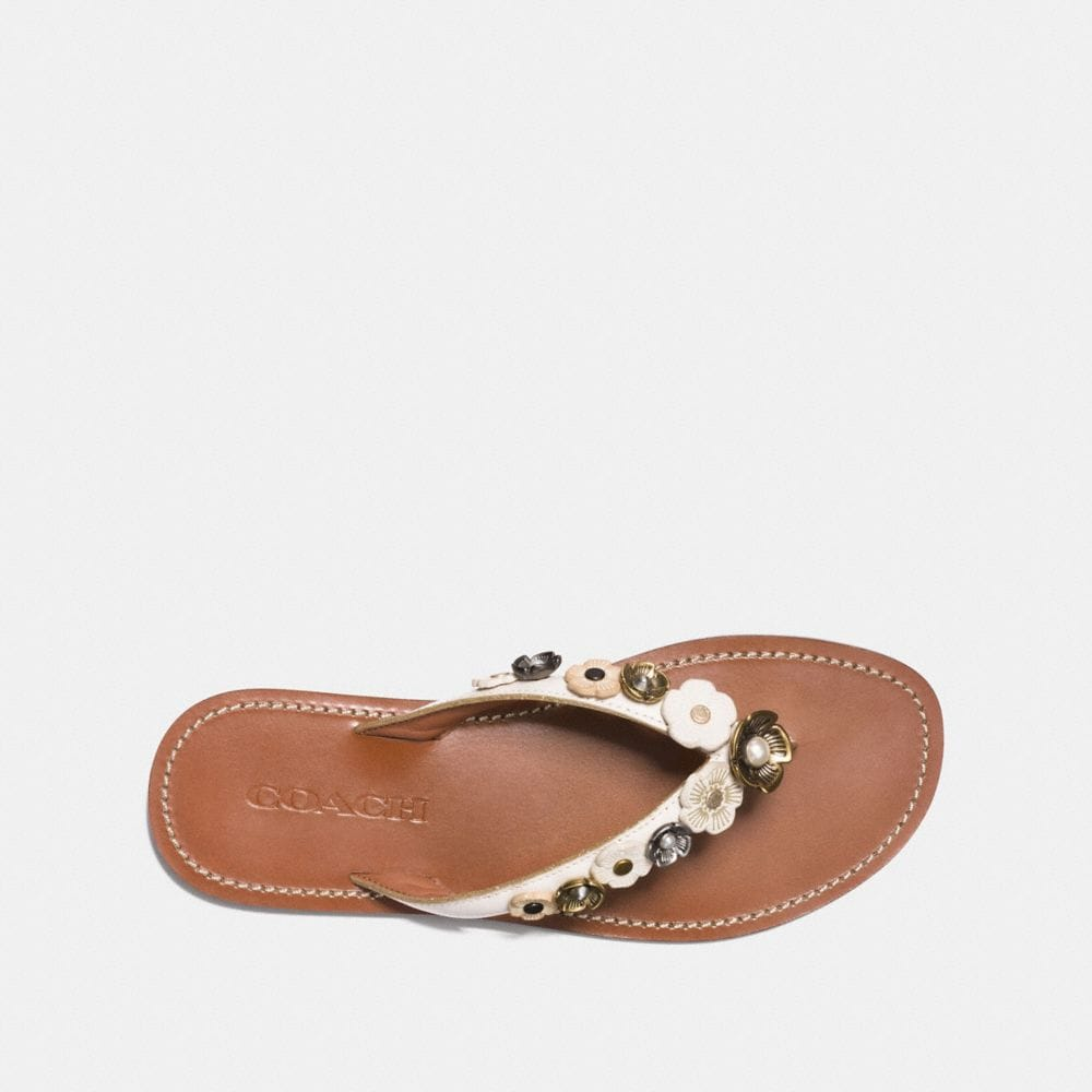 Coach Tea Rose Multi Flip Flop Alternate View 2