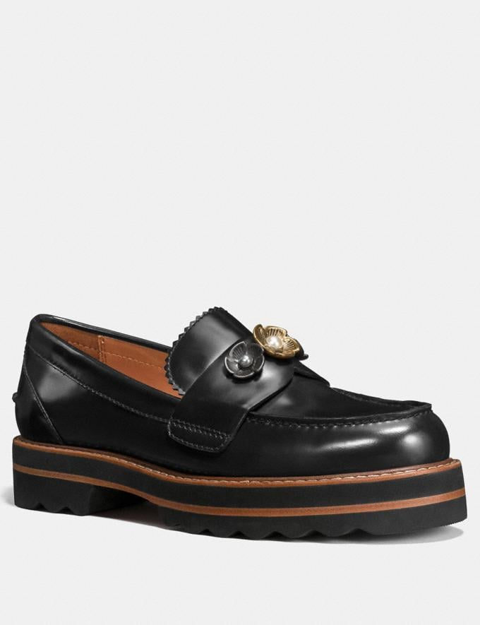 Coach Lenox Loafer Black