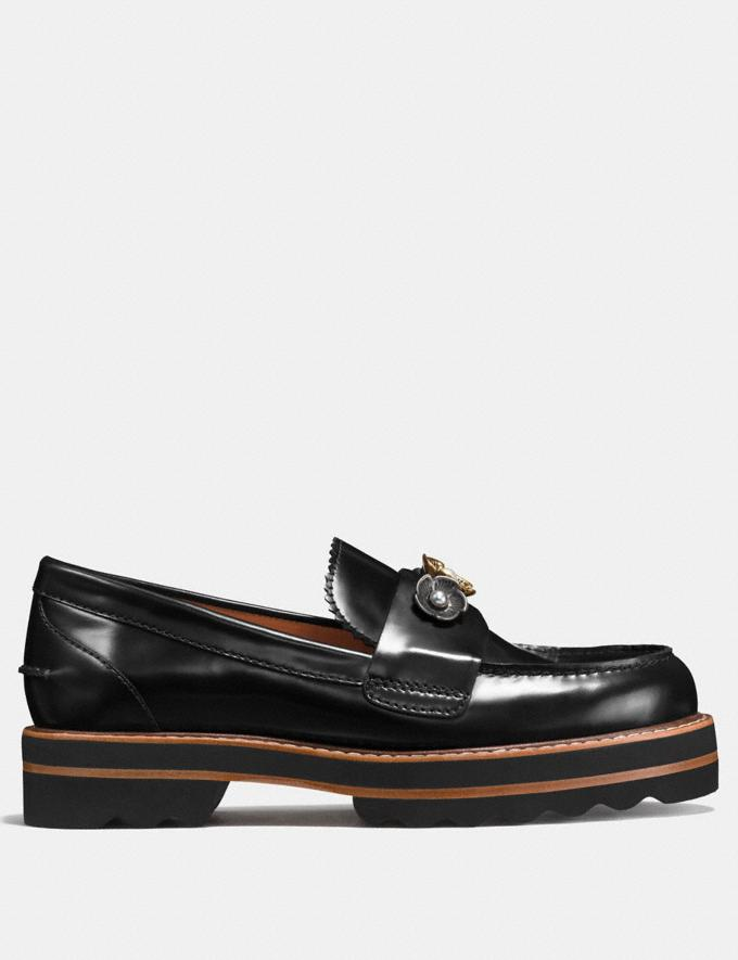 Coach Lenox Loafer Black  Alternate View 1