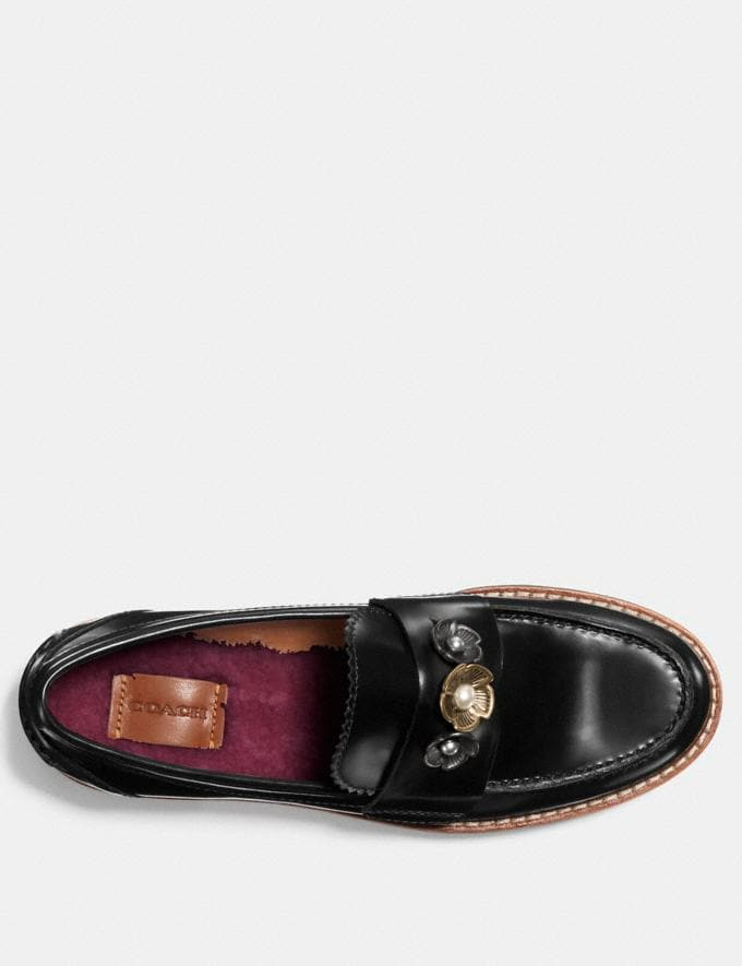 Coach Lenox Loafer Black  Alternate View 2