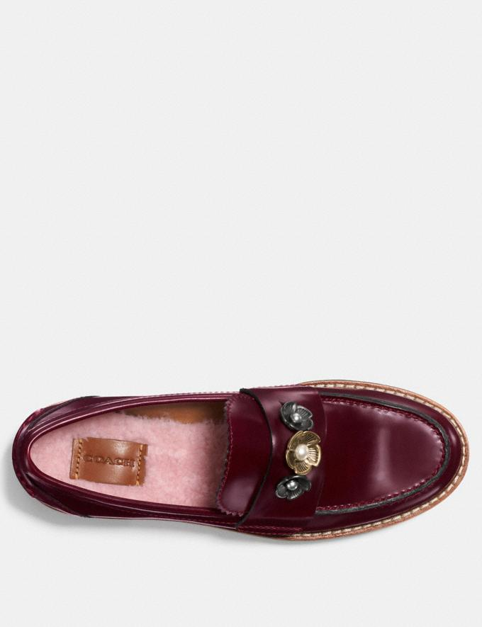 Coach Lenox Loafer Cabernet  Alternate View 2