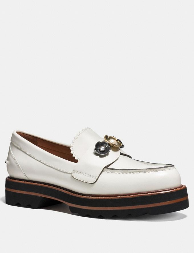 Coach Lenox Loafer Sand Dollar CYBER MONDAY SALE Women's Sale Shoes