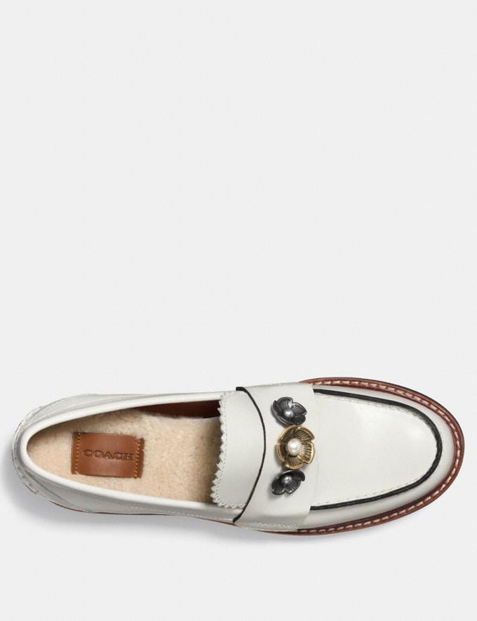 Coach Lenox Loafer Sand Dollar CYBER MONDAY SALE Women's Sale Shoes Alternate View 2