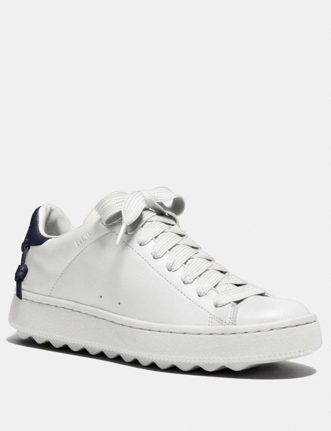 Coach C101 Low Top Sneaker White Friends & Family Sale Women's Shoes