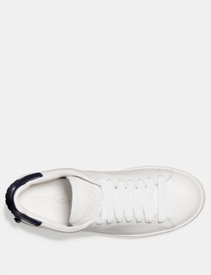Coach C101 Low Top Sneaker White Friends & Family Sale Women's Shoes Alternate View 2