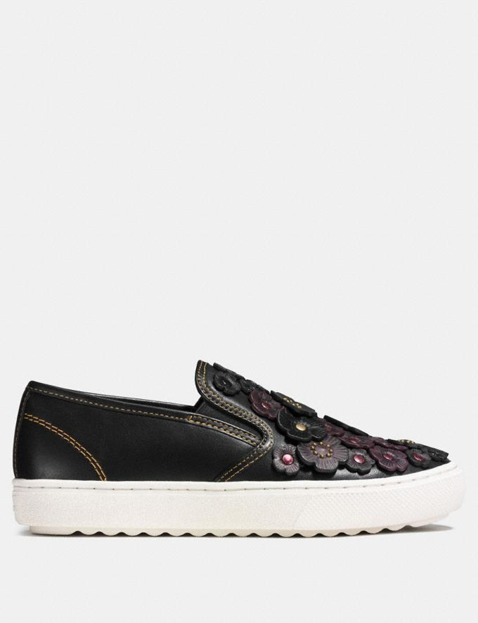 Coach C115 Slip on Black Friends & Family Sale Women's Shoes Alternate View 1
