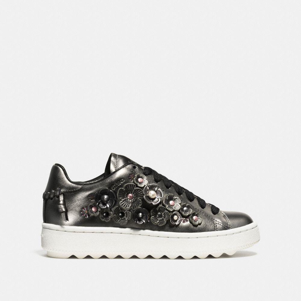 C101 Low Top Sneaker - Alternate View A1