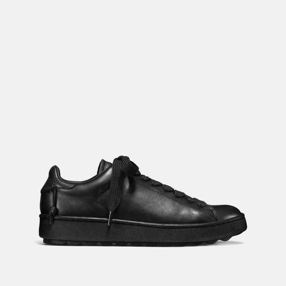 Leather C101 Low Top Sneaker  - Alternate View A1