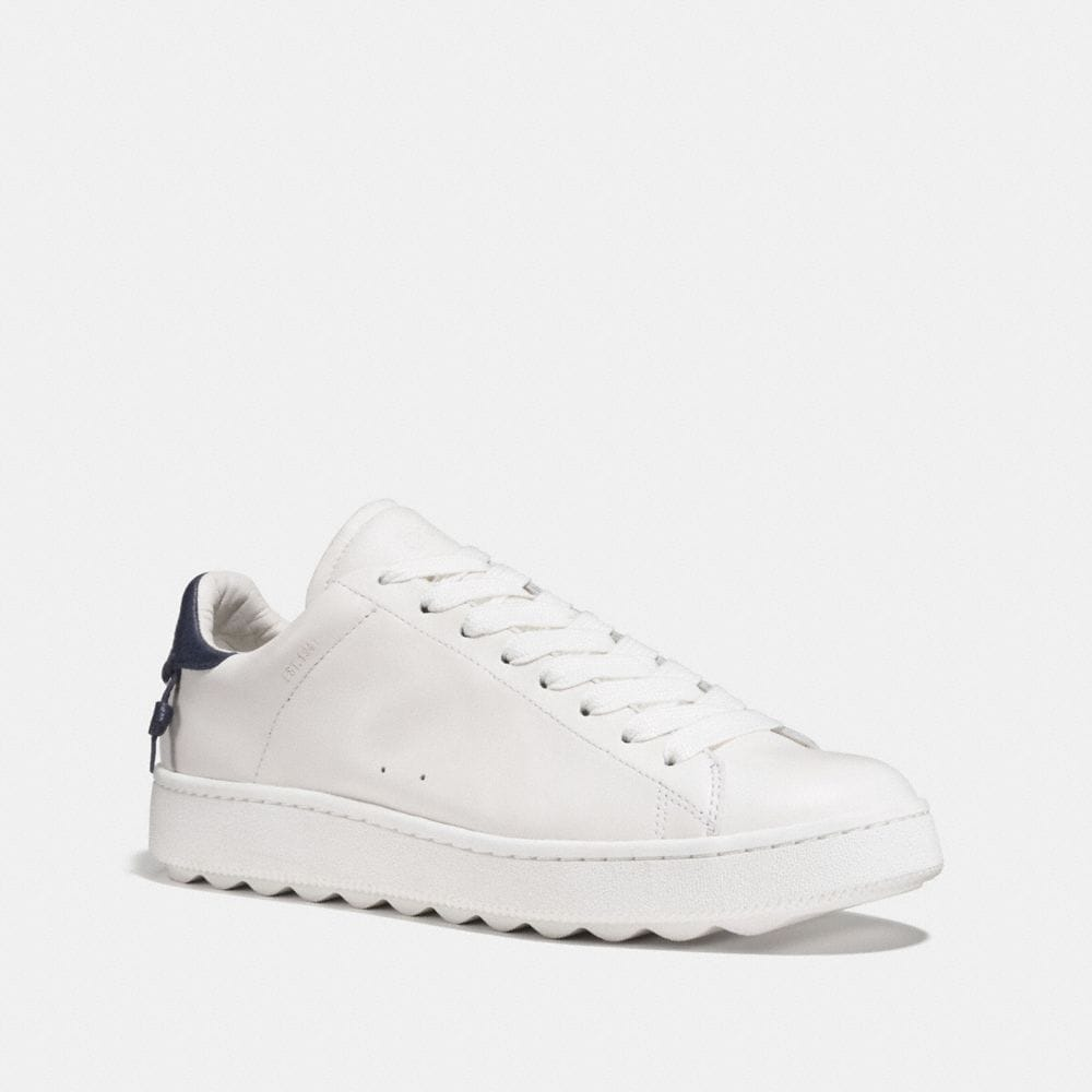 Coach Leather Low-Top Sneakers