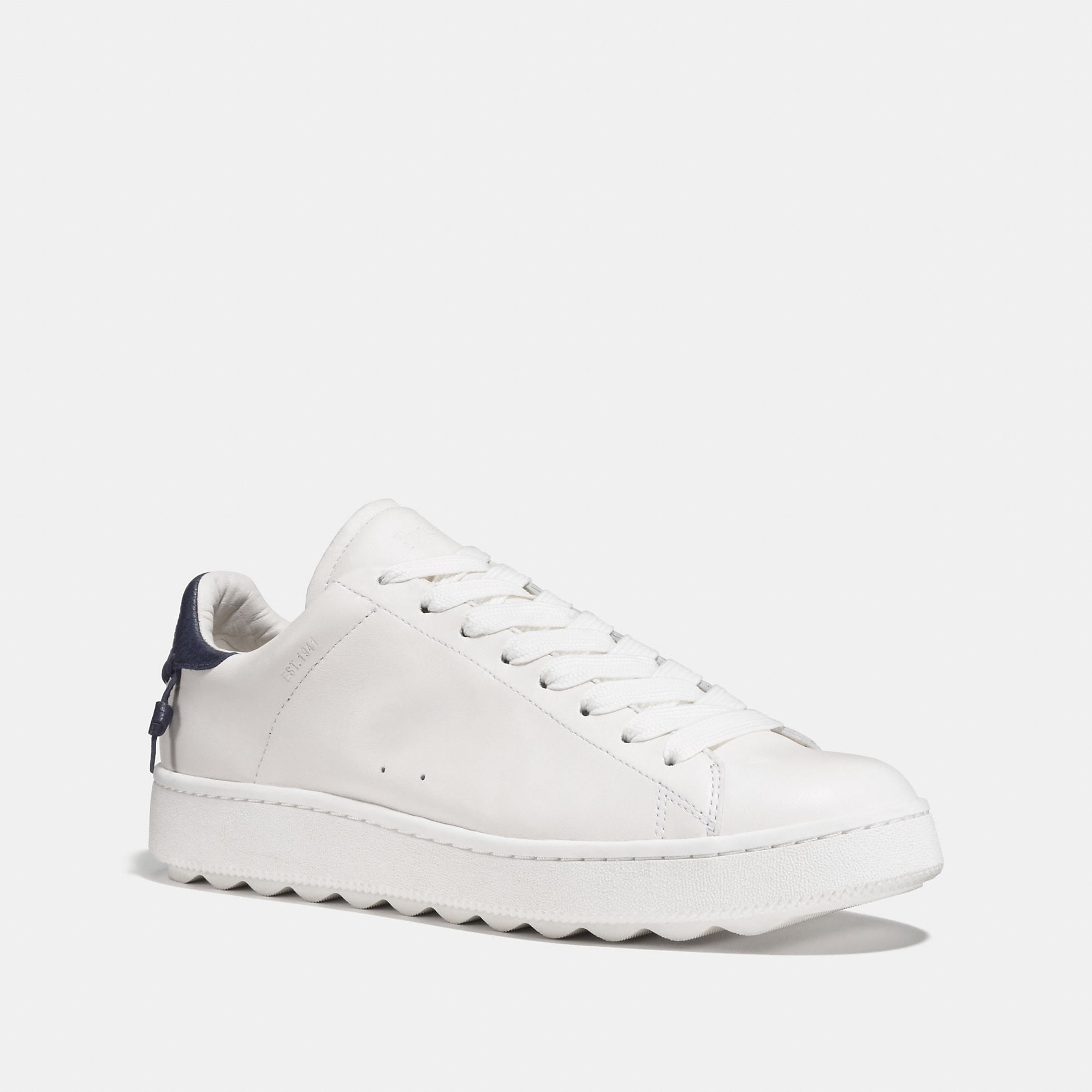 Coach Leather C101 Low Top Sneaker