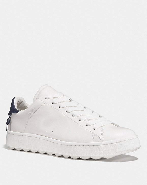 Coach Leather Low-Top Sneakers Discount Codes Shopping Online Discount Low Cost Y85IKQ697