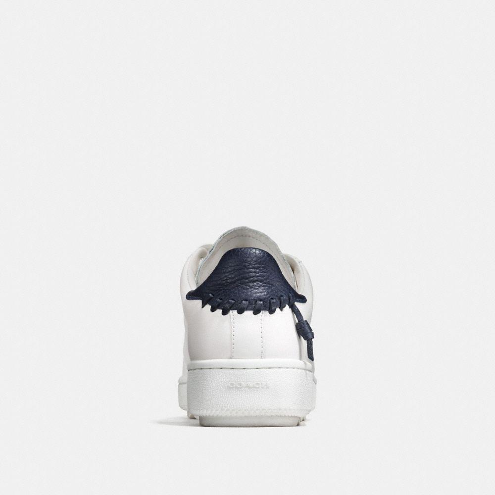 Leather C101 Low Top Sneaker - Autres affichages A2