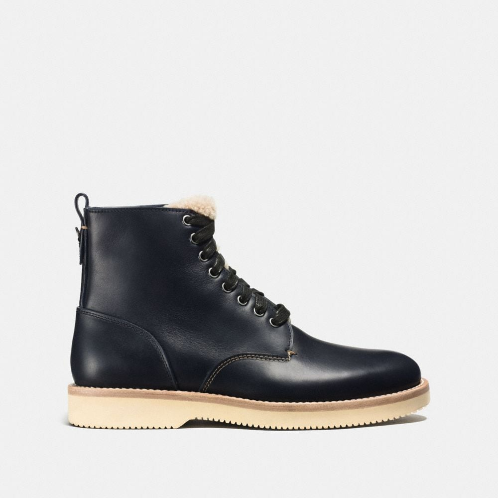 Coach Derby Boot With Shearling Alternate View 1