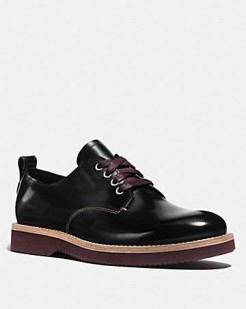 sale cost Coach Leather Oxford Booties sale authentic amazon online clearance footlocker 8HJ5SLjbrT