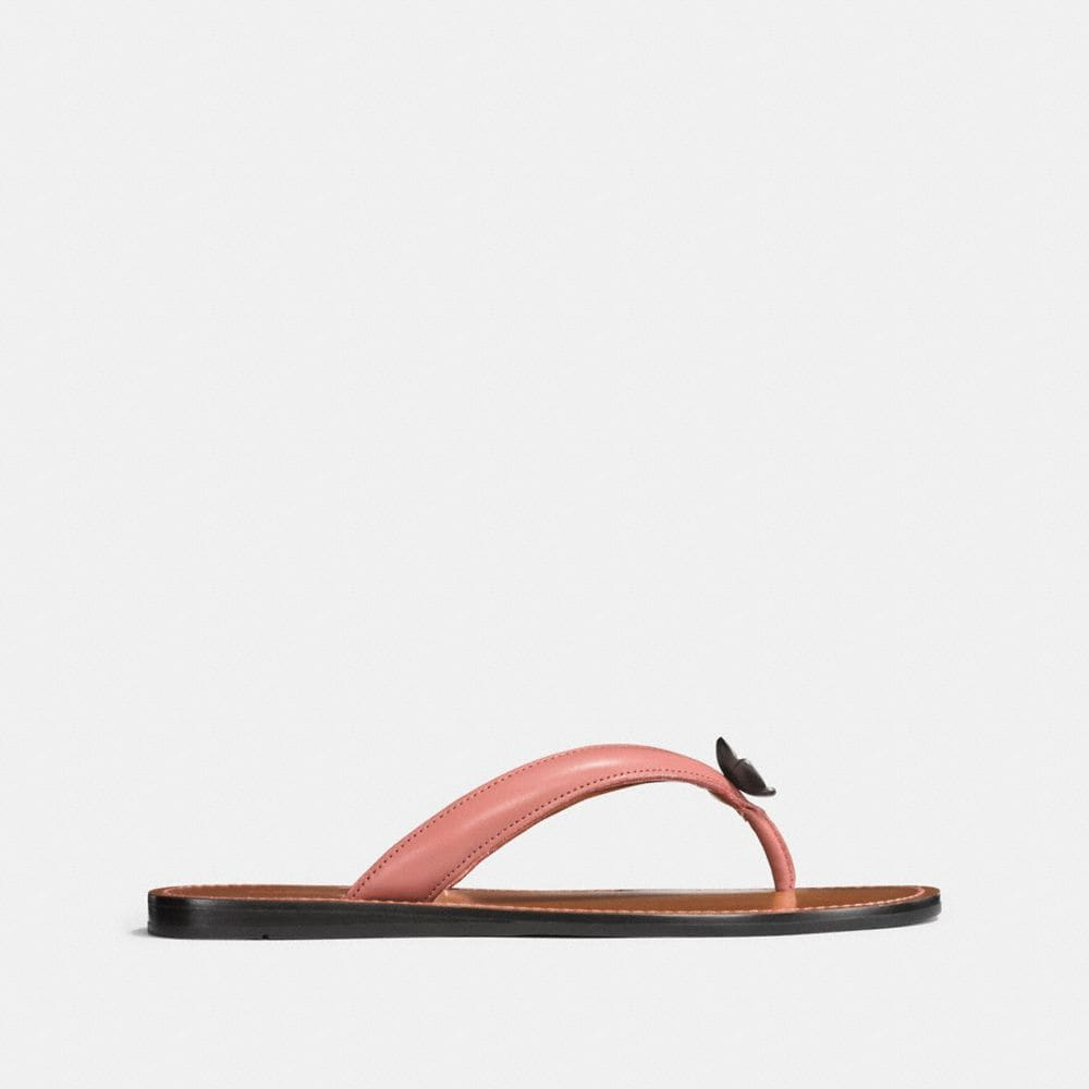 Coach Tea Rose Flip Flop Alternate View 1