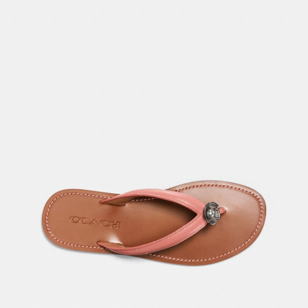 Coach Tea Rose Flip Flop Alternate View 2