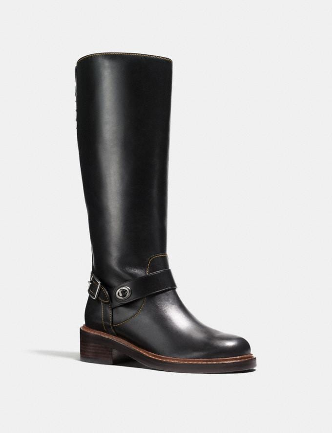 Coach Sutton Boot Black
