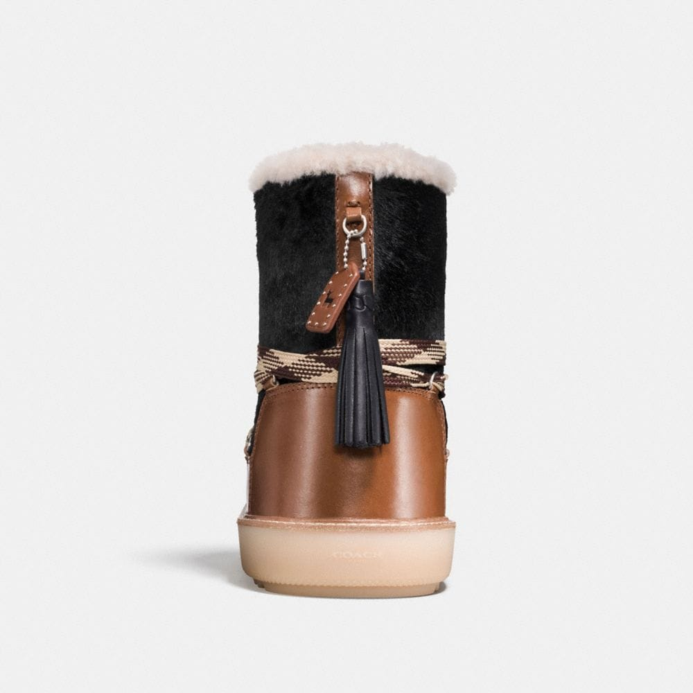 Coach Shearling Bootie in Haircalf Alternate View 2