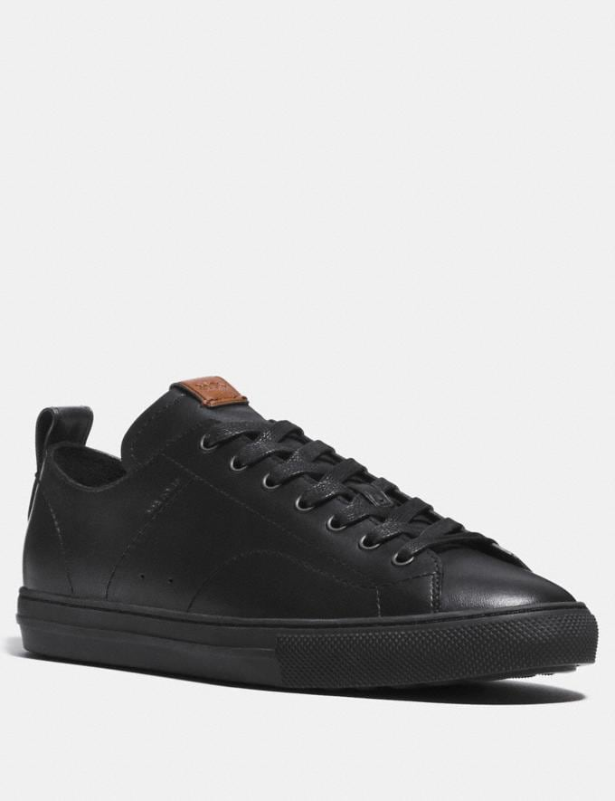 Coach C121 Low Top Sneaker Black
