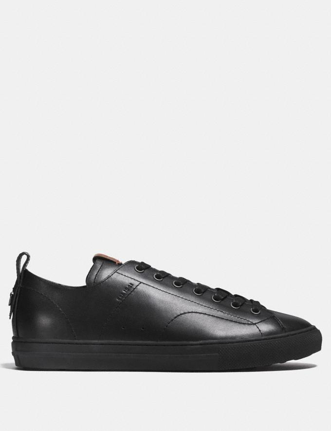 Coach C121 Low Top Sneaker Black  Alternate View 1
