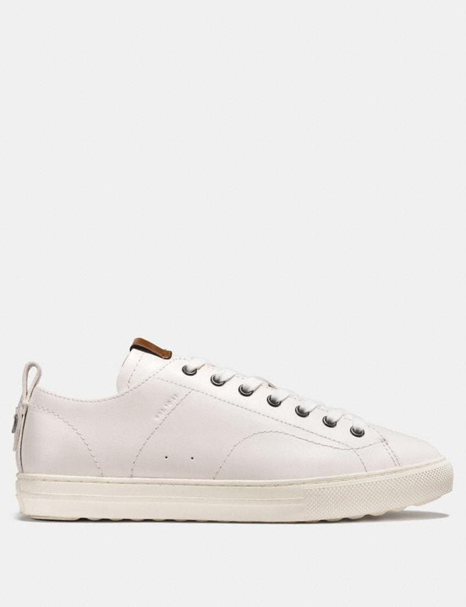 Coach C121 Low Top Sneaker White  Alternate View 1