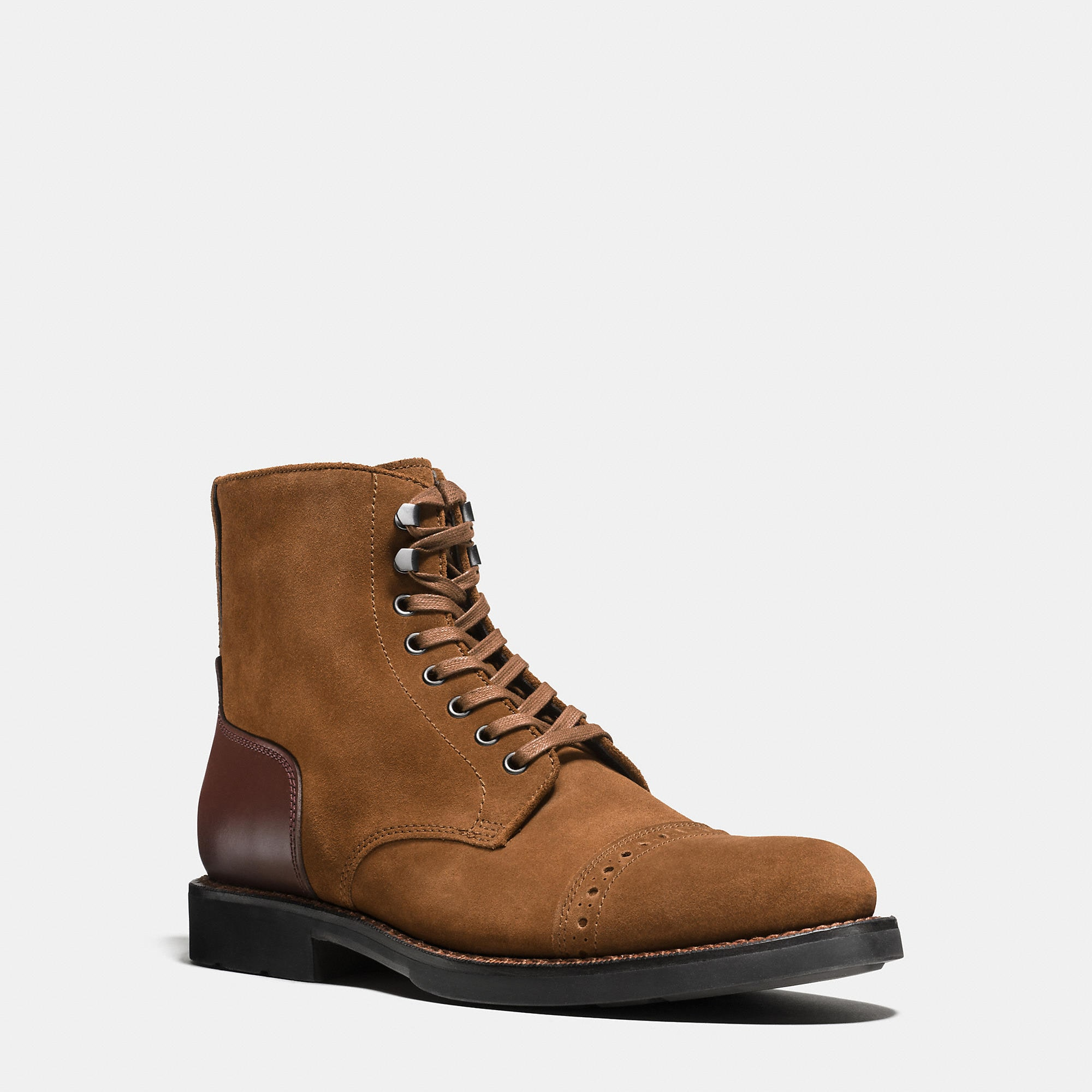 Coach Bleecker Cap Toe Boot