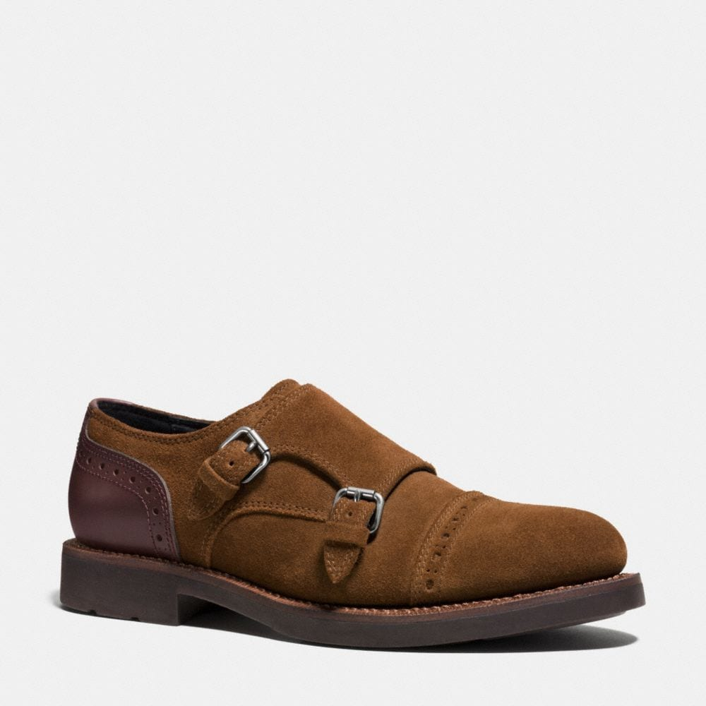 Coach Bleecker Double Monk Shoe
