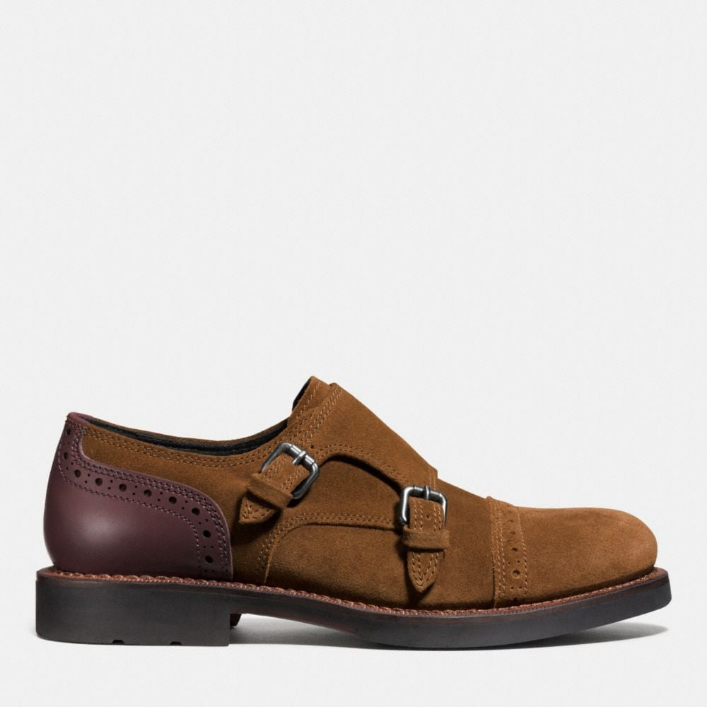 Coach Bleecker Double Monk Shoe Alternate View 1