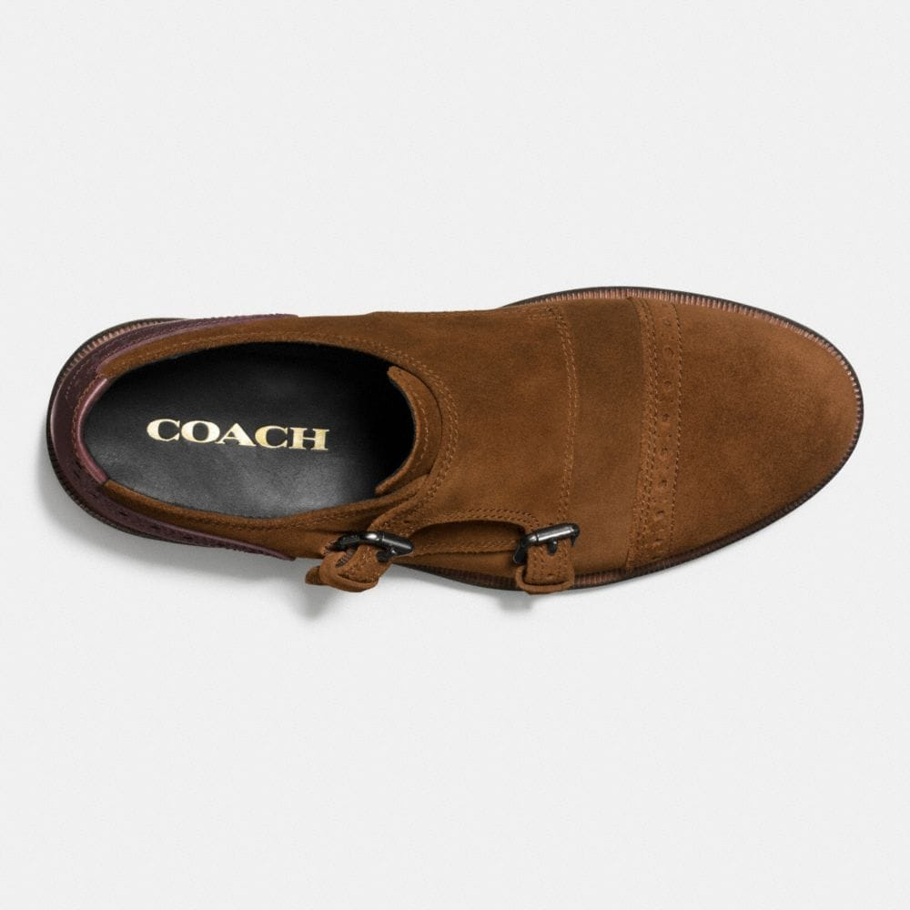 Coach Bleecker Double Monk Shoe Alternate View 2