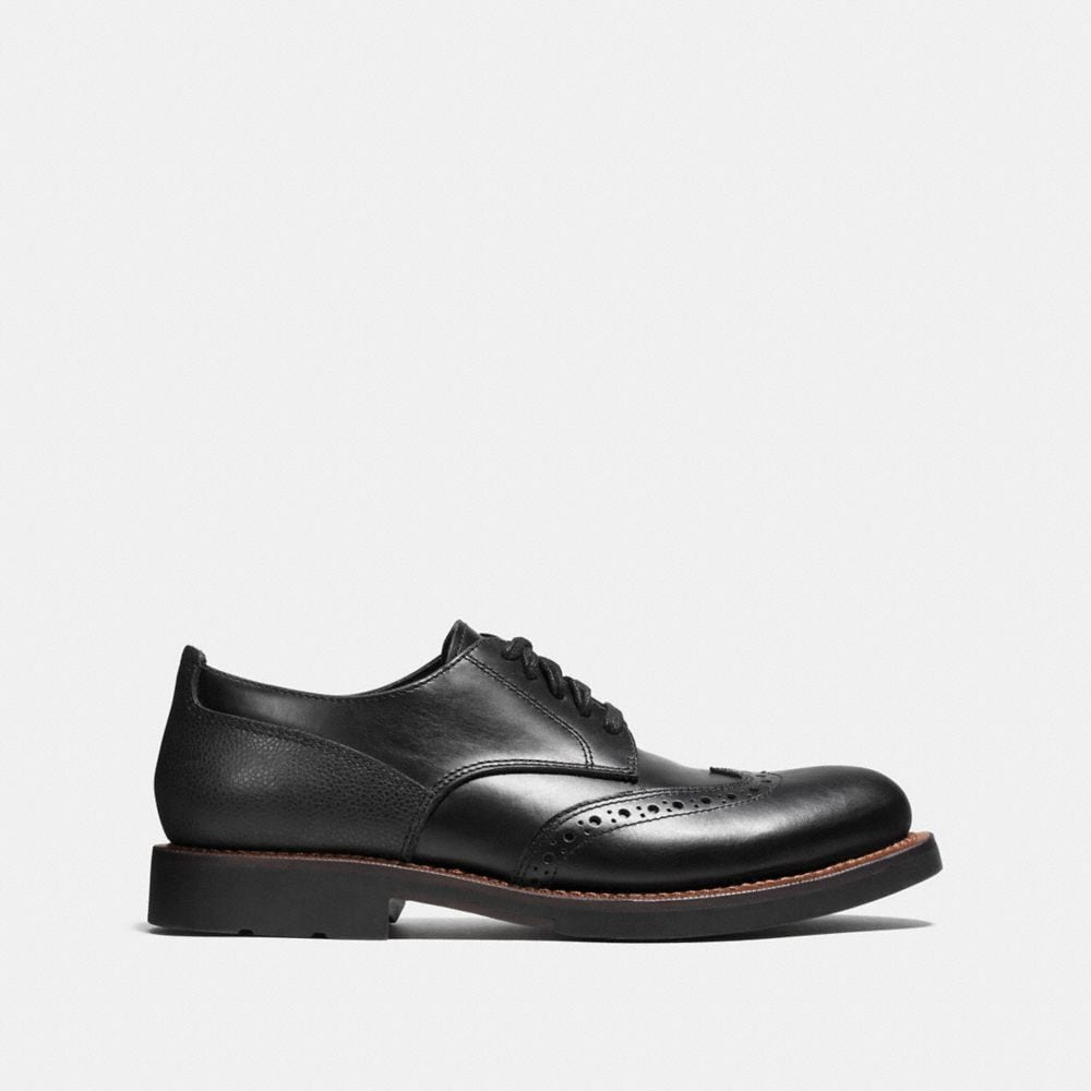 Coach Bleecker Wingtip Derby Shoe Alternate View 1