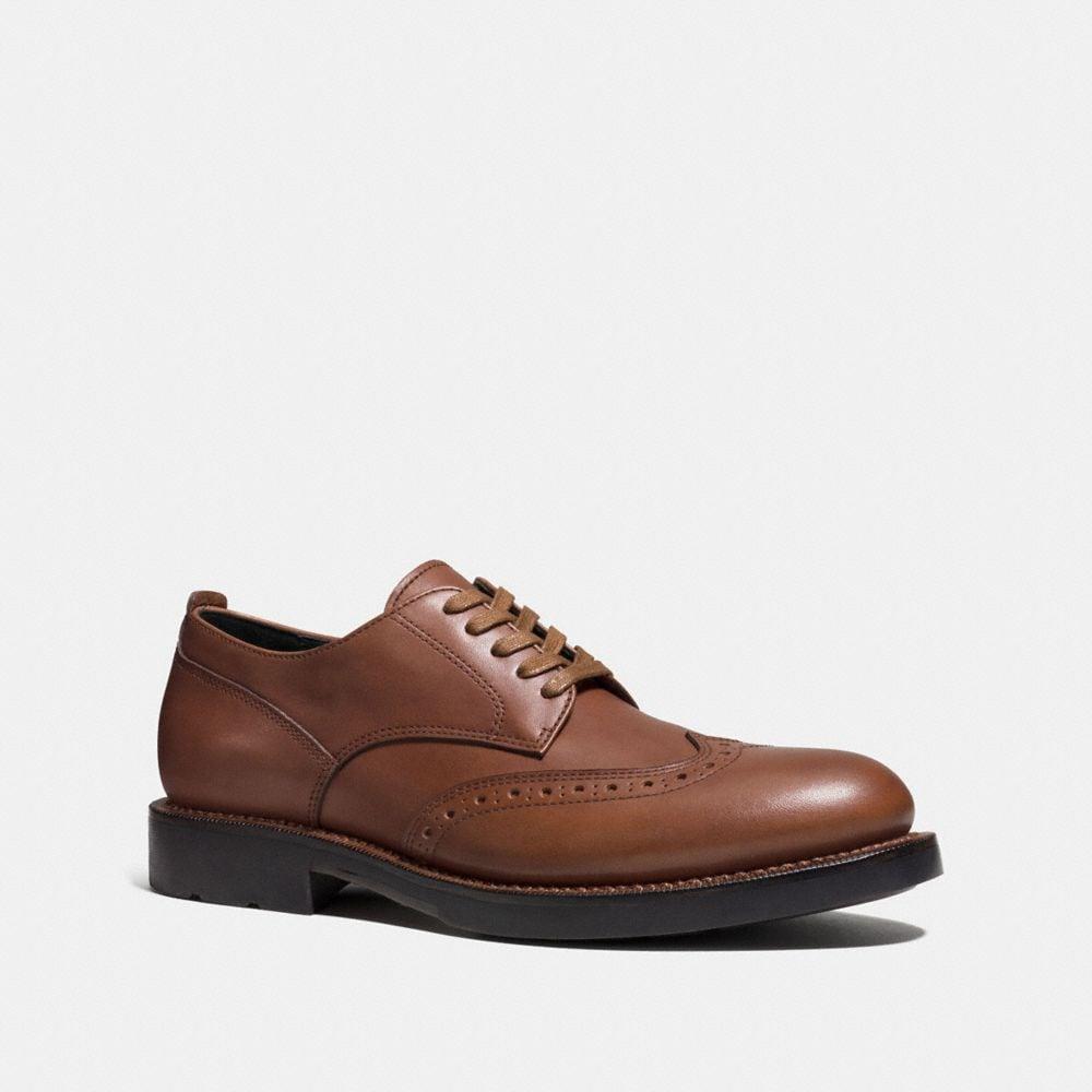 Coach Bleecker Wingtip Derby Shoe