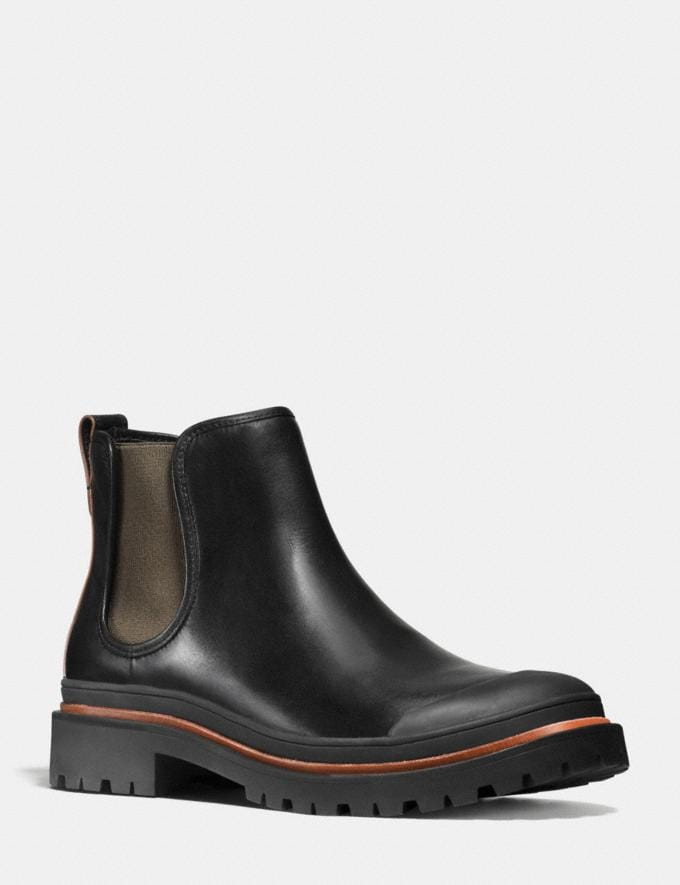 Coach Cedar Chelsea Boot Black Men Shoes Boots