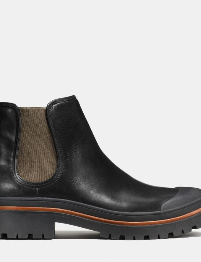 Coach Cedar Chelsea Boot Black Men Shoes Boots Alternate View 1