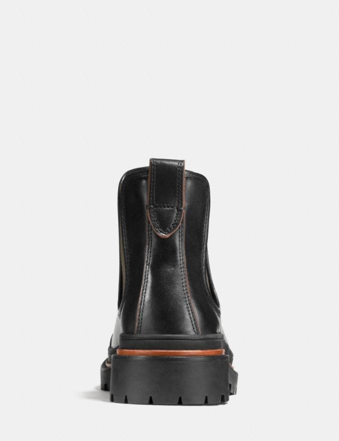 Coach Cedar Chelsea Boot Black Men Shoes Boots Alternate View 3