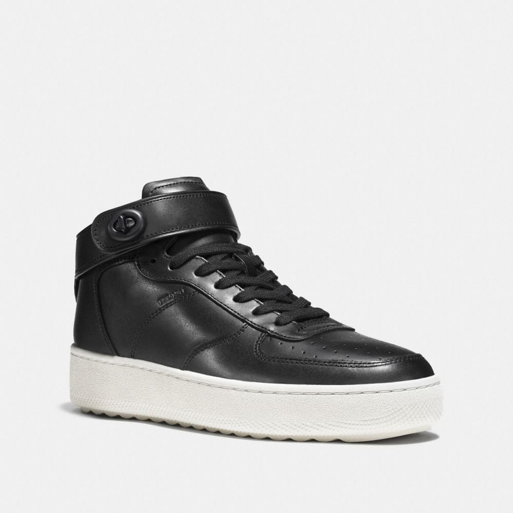 Coach Turnlock C210 High Top Sneaker