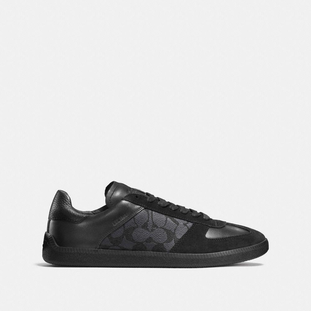 Coach C104 Sneaker in Signature Alternate View 1