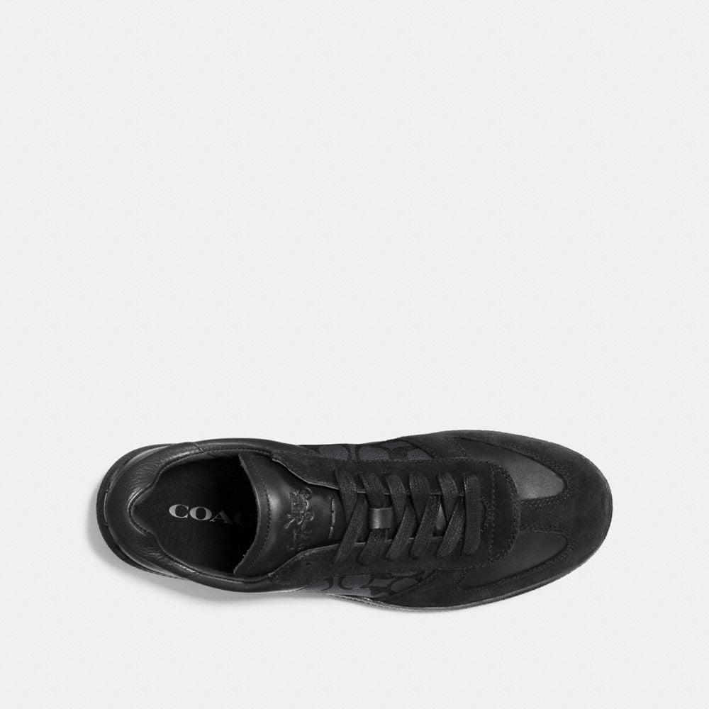 Coach C104 Sneaker in Signature Alternate View 2