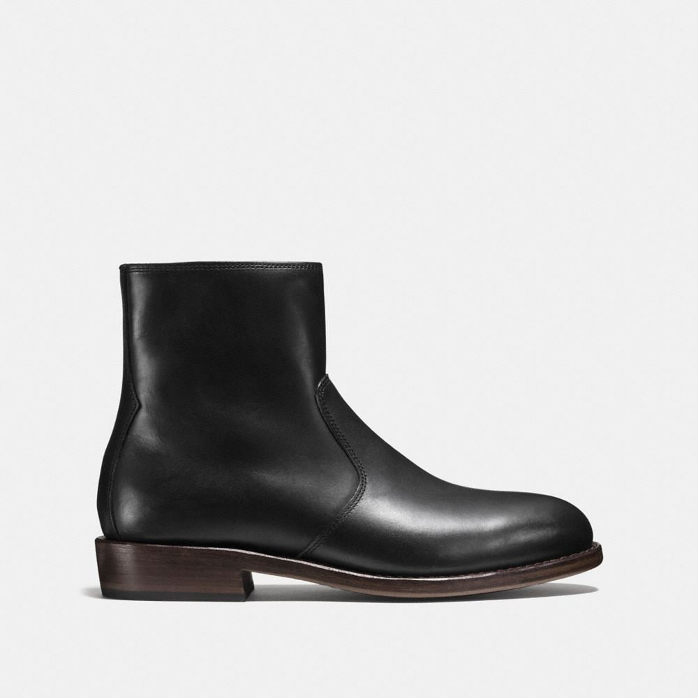 Coach West Leather Zip Boot Alternate View 1