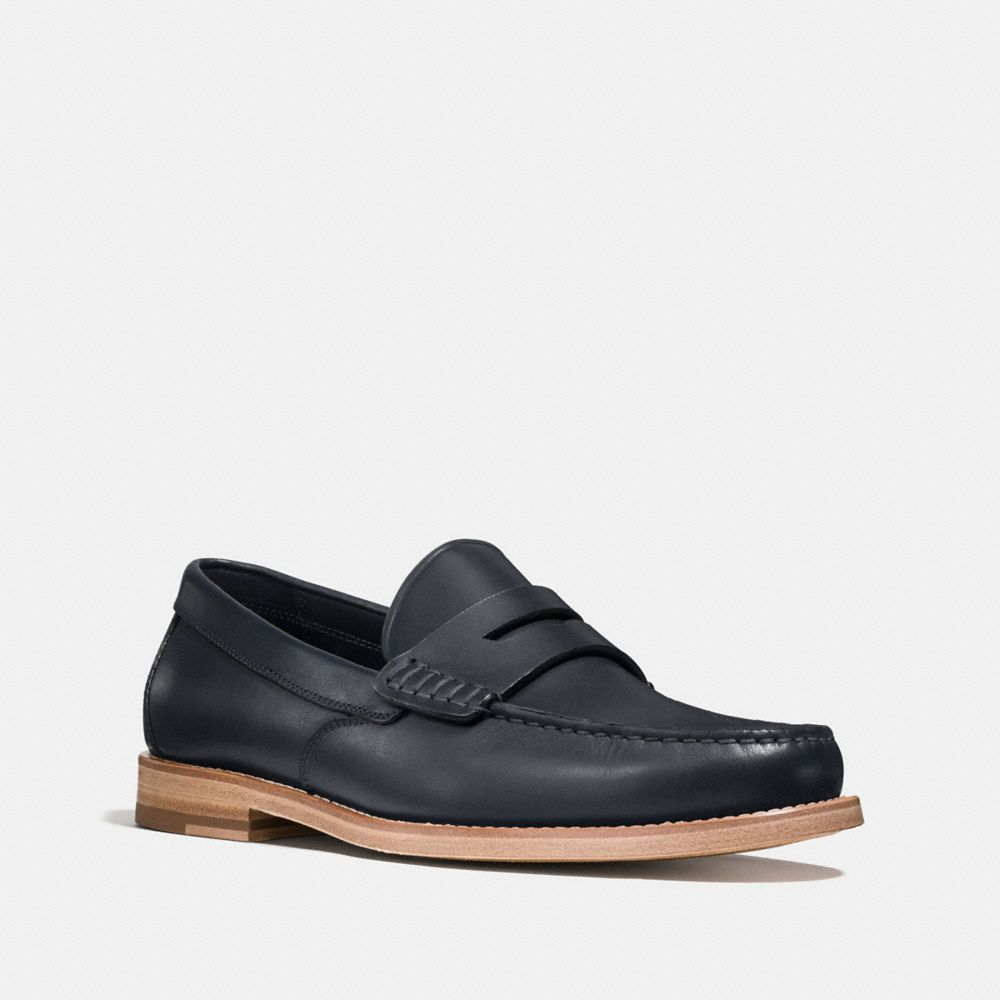 MANHATTAN LEATHER LOAFER