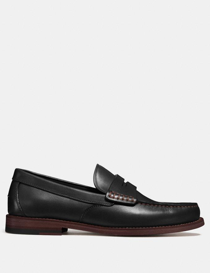 Coach Manhattan Loafer Black  Alternate View 1