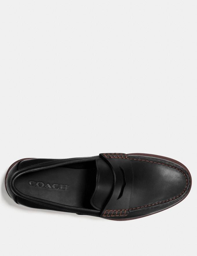 Coach Manhattan Loafer Black  Alternate View 2