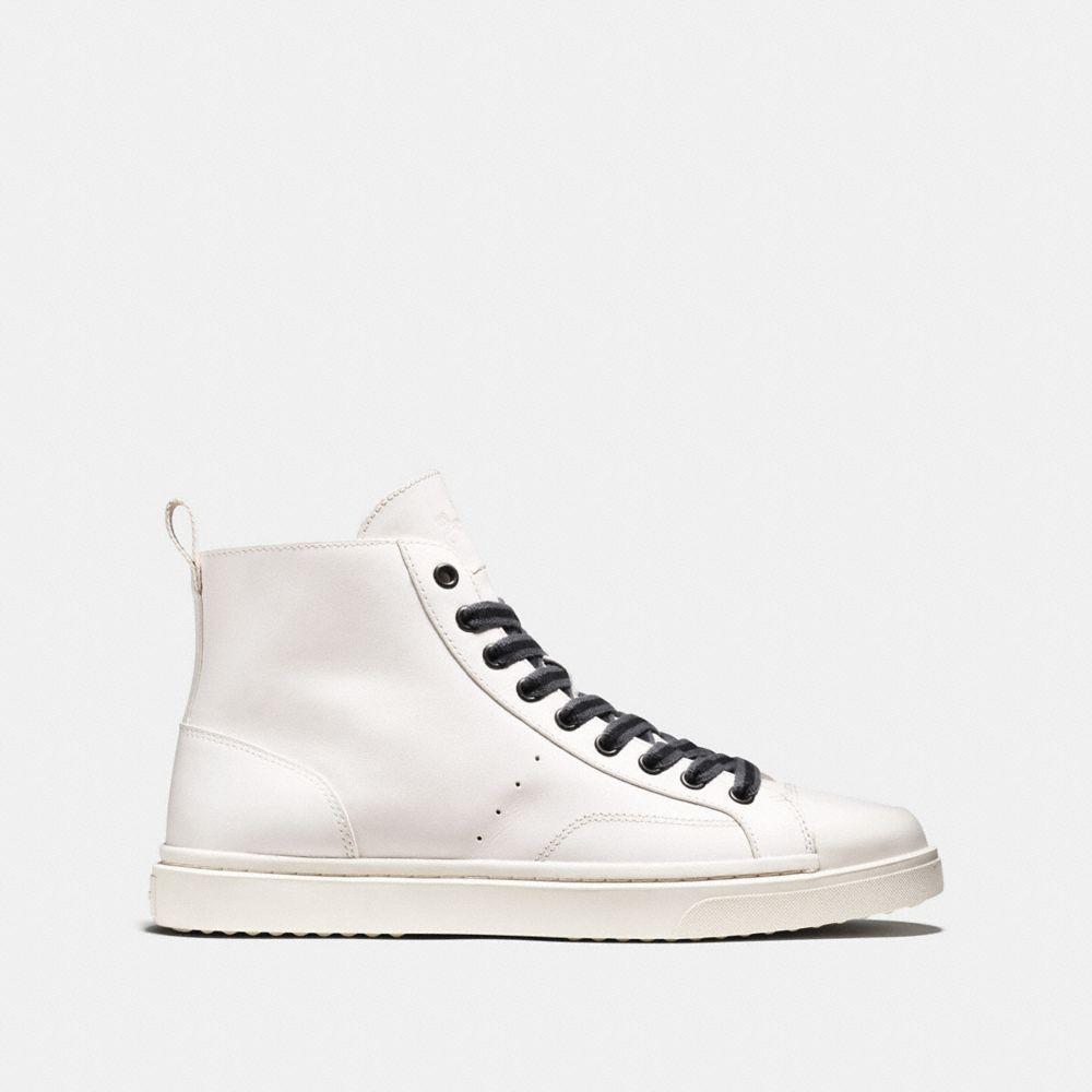 C214 High Top Sneaker - Alternate View A1