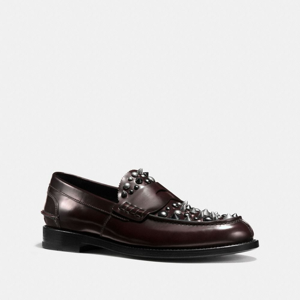 Coach Plug Loafer With Rivets