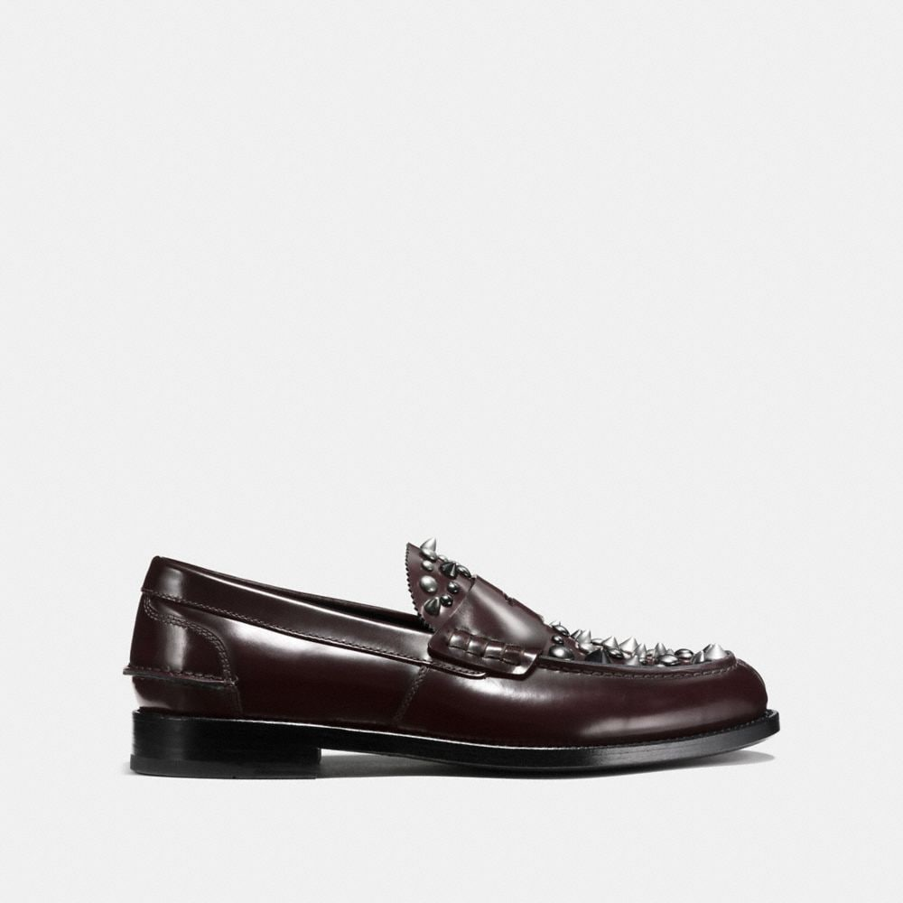Coach Plug Loafer With Rivets Alternate View 1